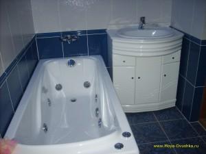 Ванная комната и туалет совмещены
