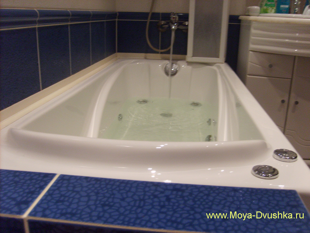Акриловая ванна Тритон с гидромассажем