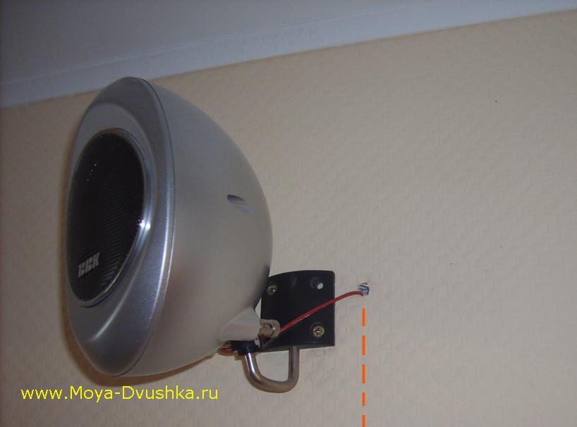 Провод для акустики под штукатуркой