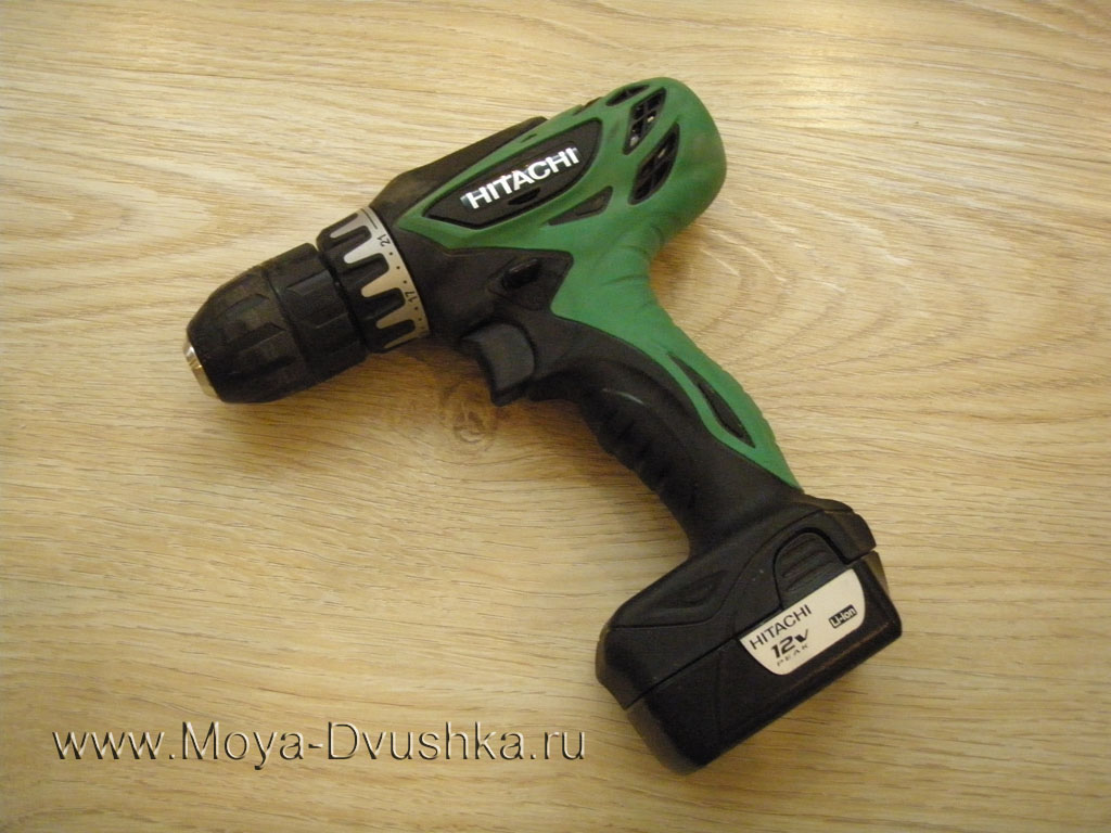 Шуруповёрт HItachi DS10DFL