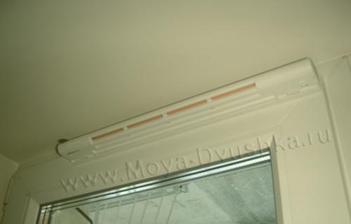 Клапан вентиляции на двери