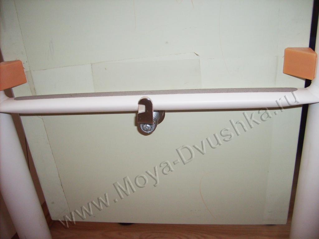 накладка на лестницу в закрытом состоянии